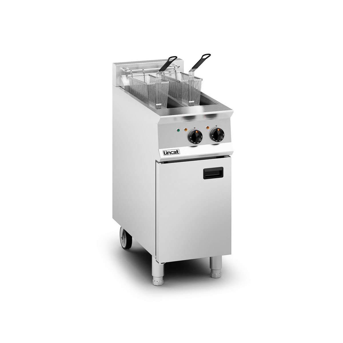 Lincat Opus 800 Twin Tank Electric Fryer Model: OE8105