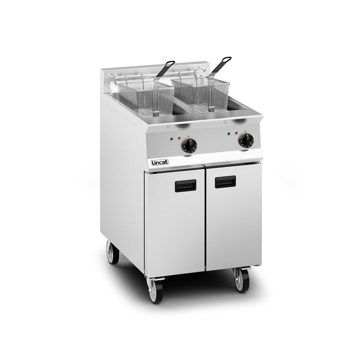 Lincat Opus 800 Electric Twin Pan Fryer Model: OE8113