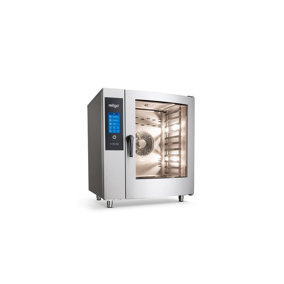 Retigo Blue Vision 10x Grid Combination Oven B1011 ig