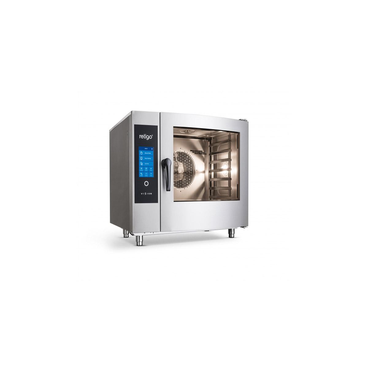 Retigo Blue Vision 6x Grid Combination Oven B611ig