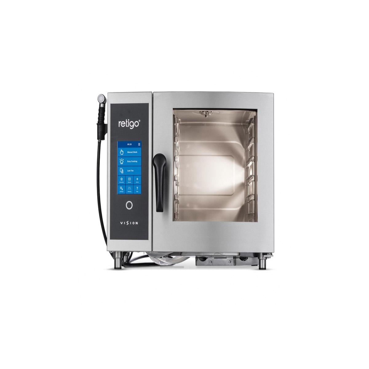 Retigo Blue Vision 6x Grid Combination Oven B623i