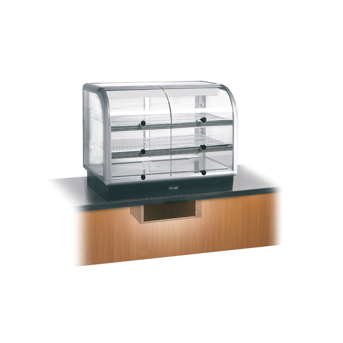 C6R/100SU - Lincat Seal 650 Series Counter-top Curved Front Refrigerated Merchandiser - Self-Service - Under-Counter Power Pack - W 1000 mm - 0.7 kW
