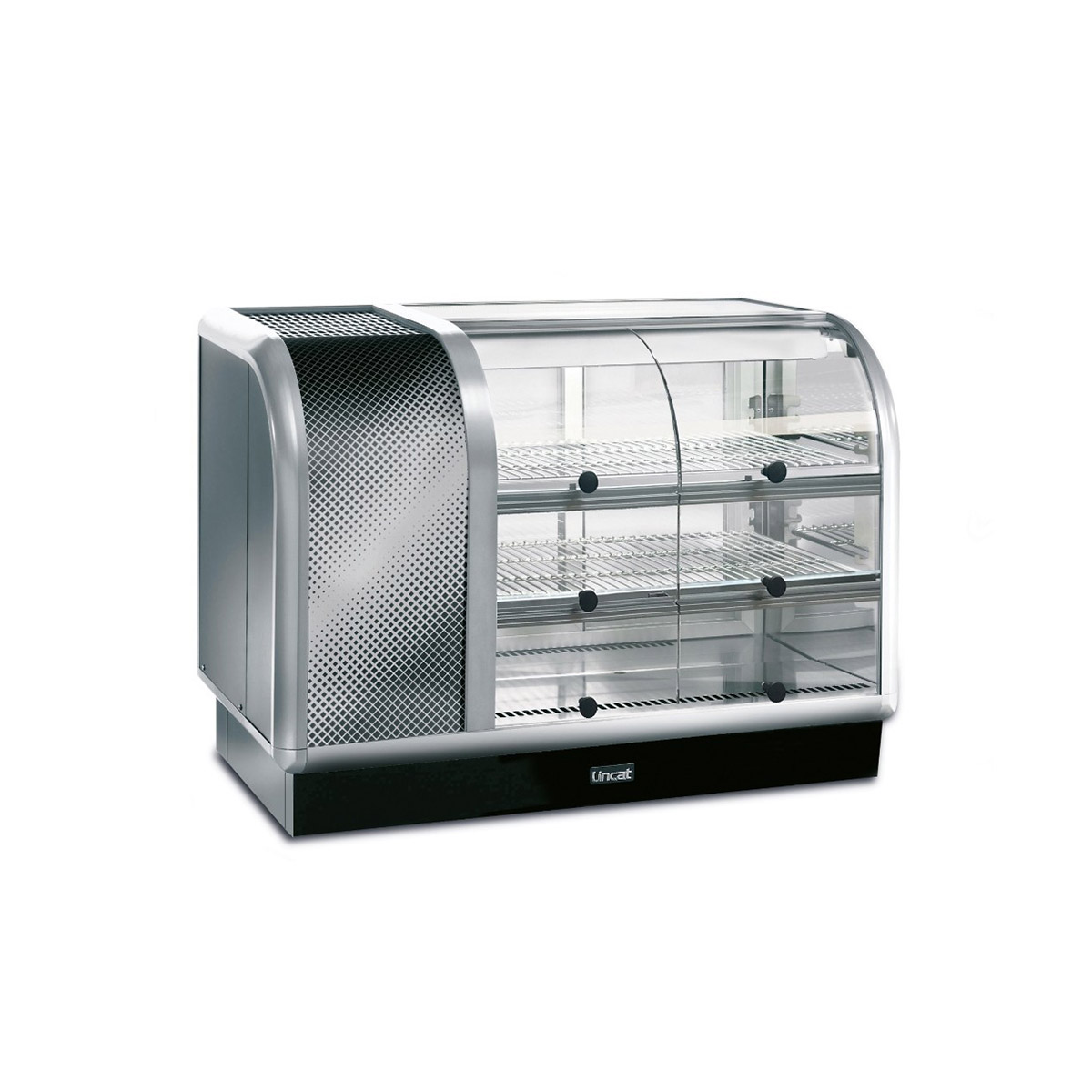 C6R/105SL - Lincat Seal 650 Series Counter-top Curved Front Refrigerated Merchandiser - Self-Service - Side-Mounted Power Pack [Left] - W 1050 mm - 0.6 kW
