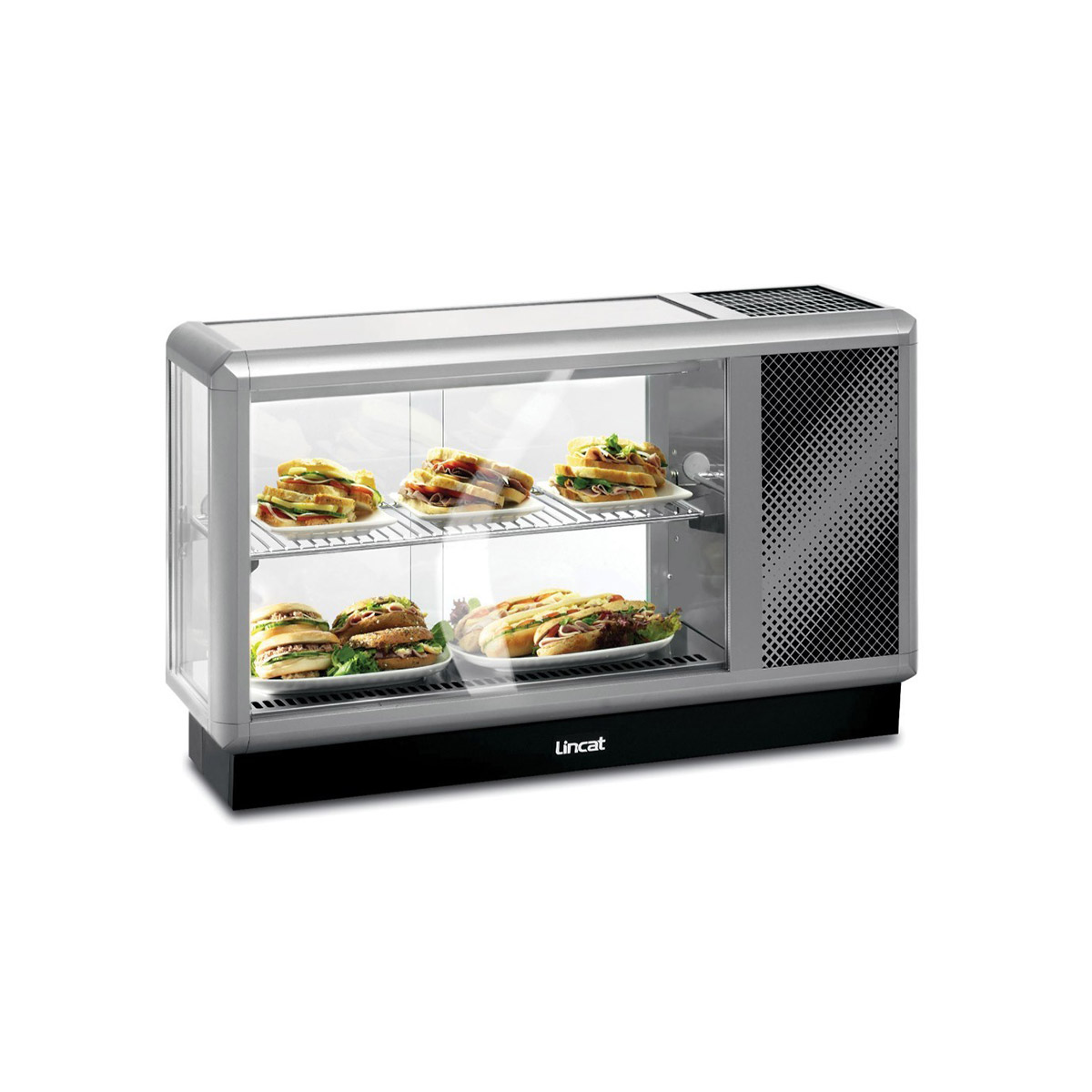 D3R/100 - Lincat Seal 350 Series Counter-top Refrigerated Merchandiser - W 1000 mm - 0.39 kW