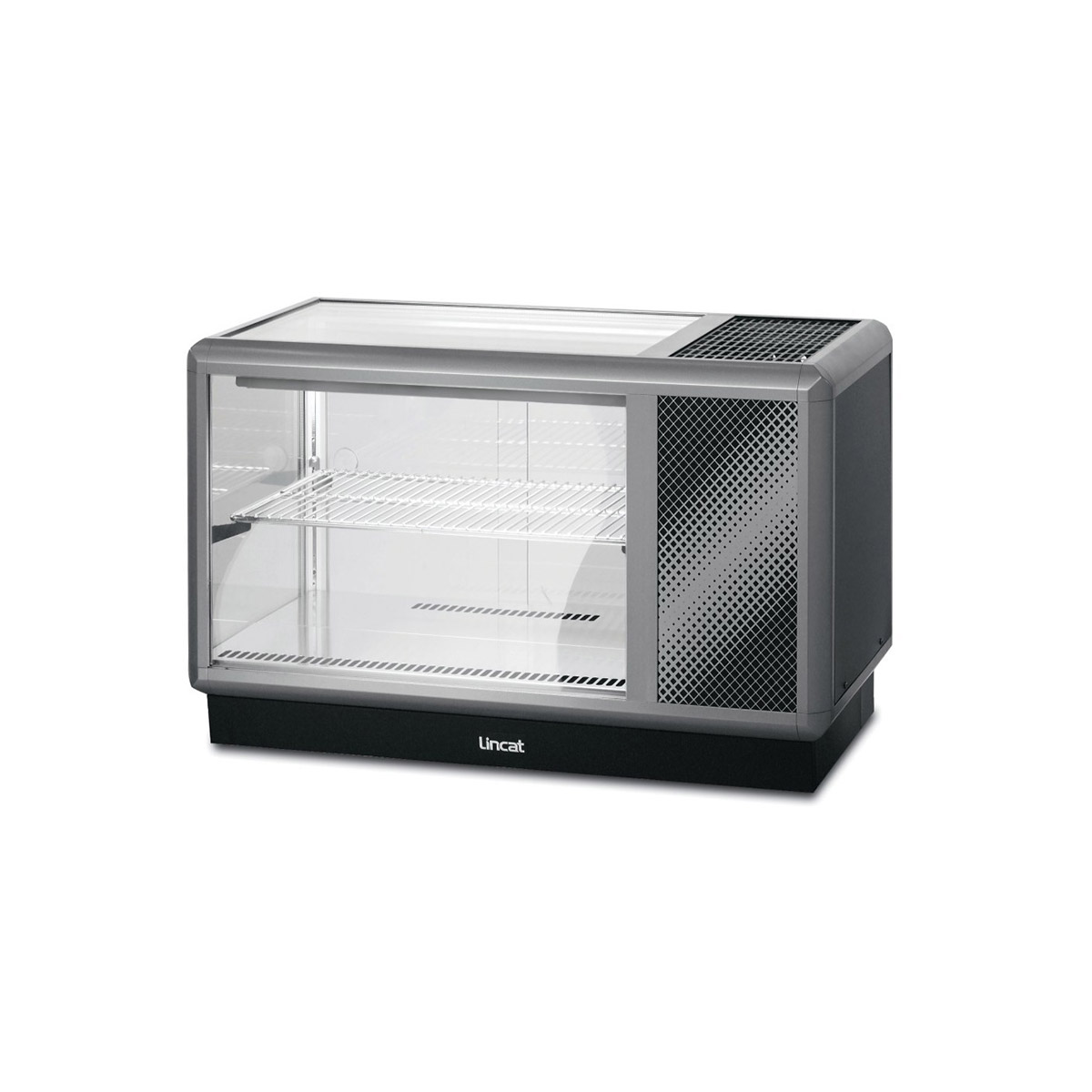 D5R/100B - Lincat Seal 500 Series Counter-top Refrigerated Merchandiser - Back-Service - W 1000 mm - 0.6 kW