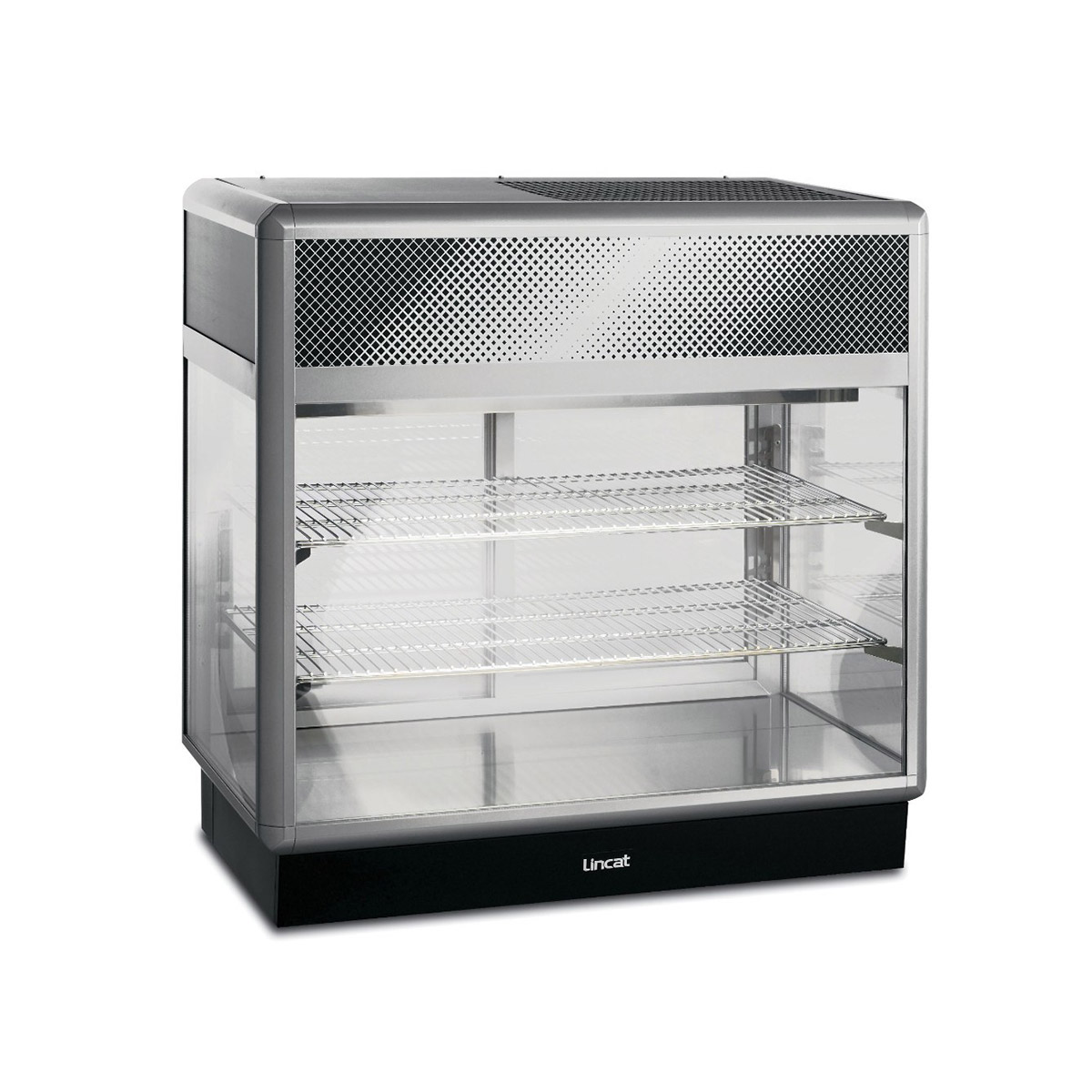 D6R/100B - Lincat Seal 650 Series Counter-top Rectangular Front Refrigerated Merchandiser - Back-Service - W 1000 mm - 0.7 kW