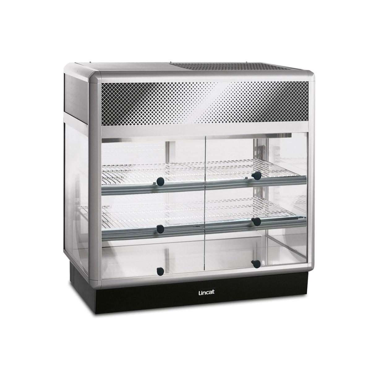 D6R/100S - Lincat Seal 650 Series Counter-top Rectangular Front Refrigerated Merchandiser - Self-Service - W 1000 mm - 0.7 kW