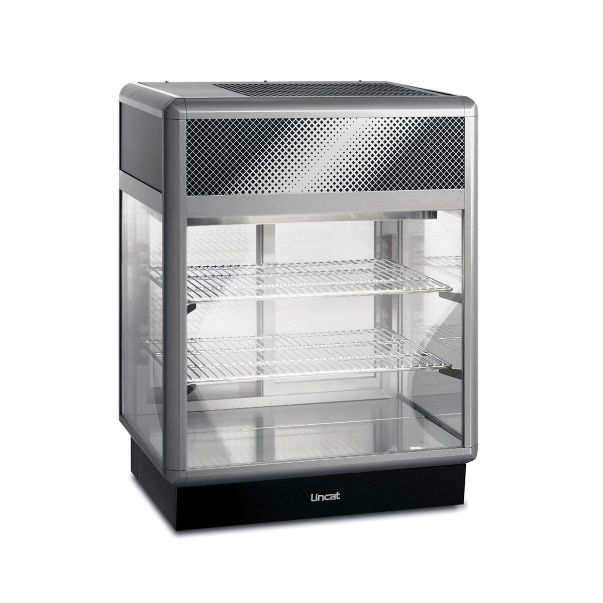 D6R/75B - Lincat Seal 650 Series Counter-top Rectangular Front Refrigerated Merchandiser - Back-Service - W 750 mm - 0.6 kW