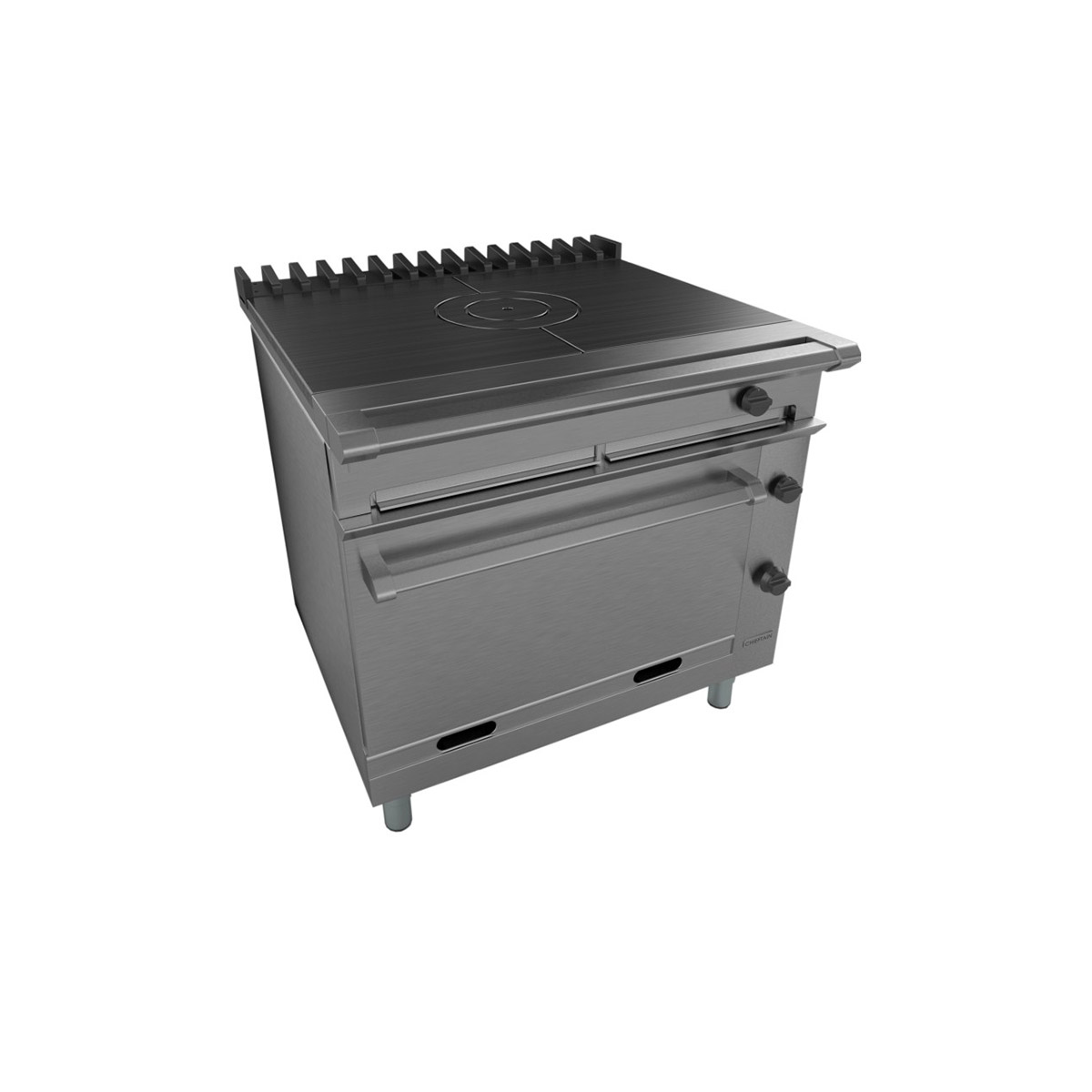Falcon Chieftain Solid Top Gas Oven Range On Casters G1006BX