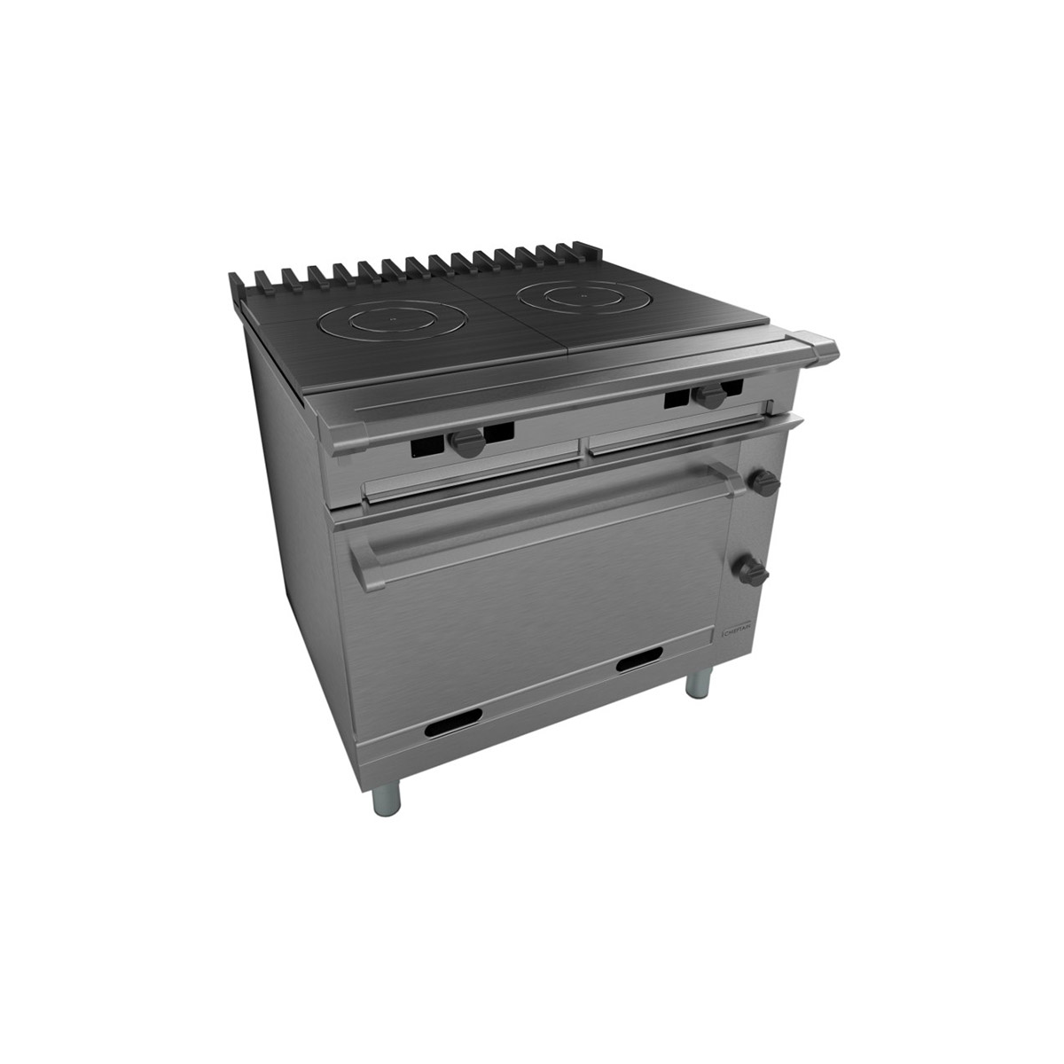Falcon Chieftain Solid Top Gas Oven Range On Casters G1006FX