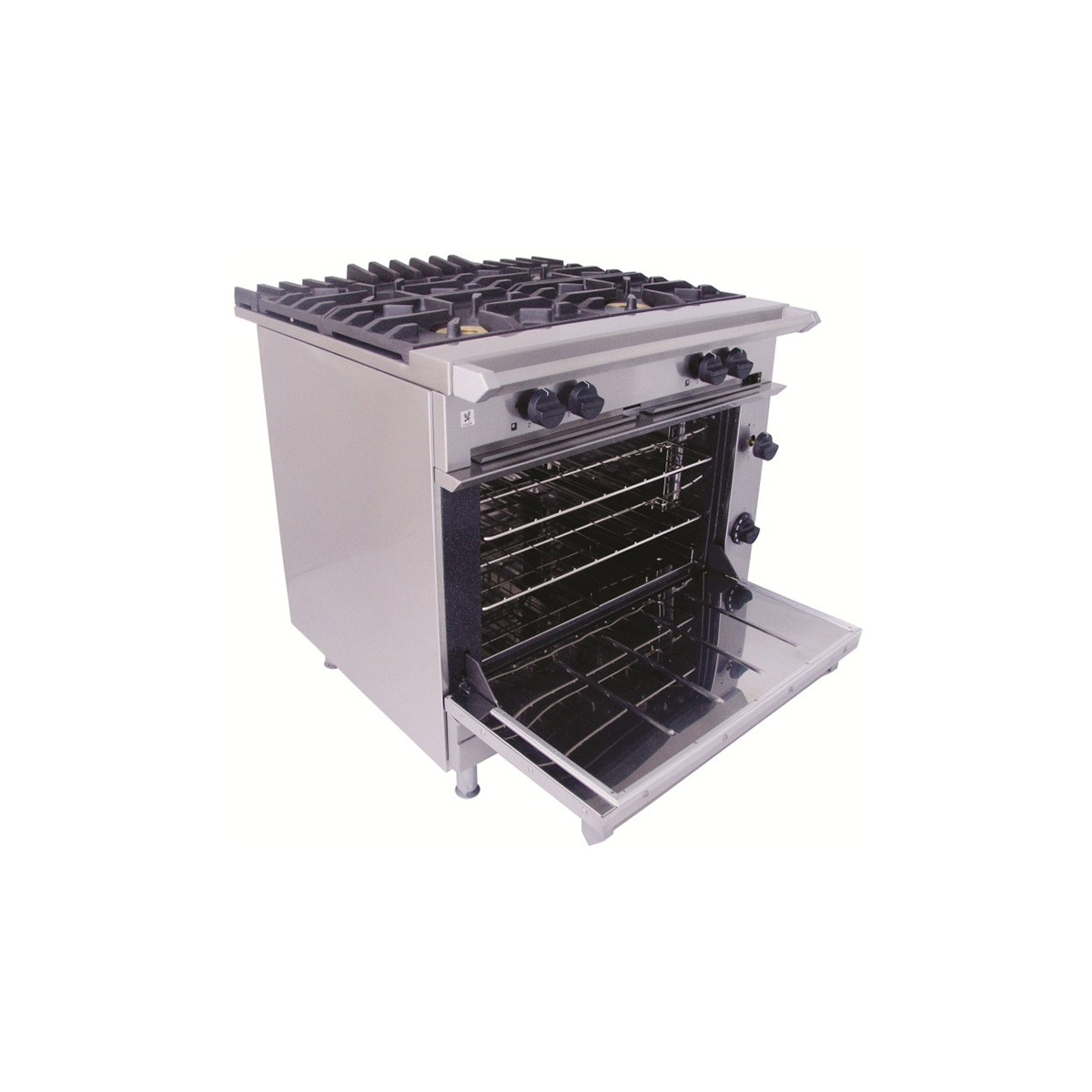 Falcon Chieftain 4x Burner Gas Oven Range On Casters G1006X
