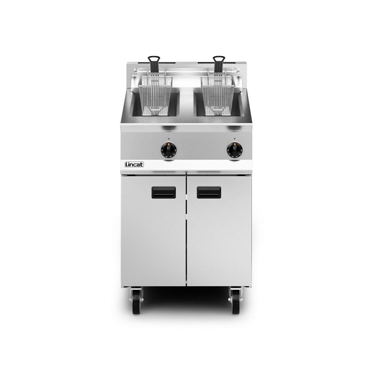 Lincat Opus 800 Twin Tank Gas Fryer Model: OG8111/P (Propane)
