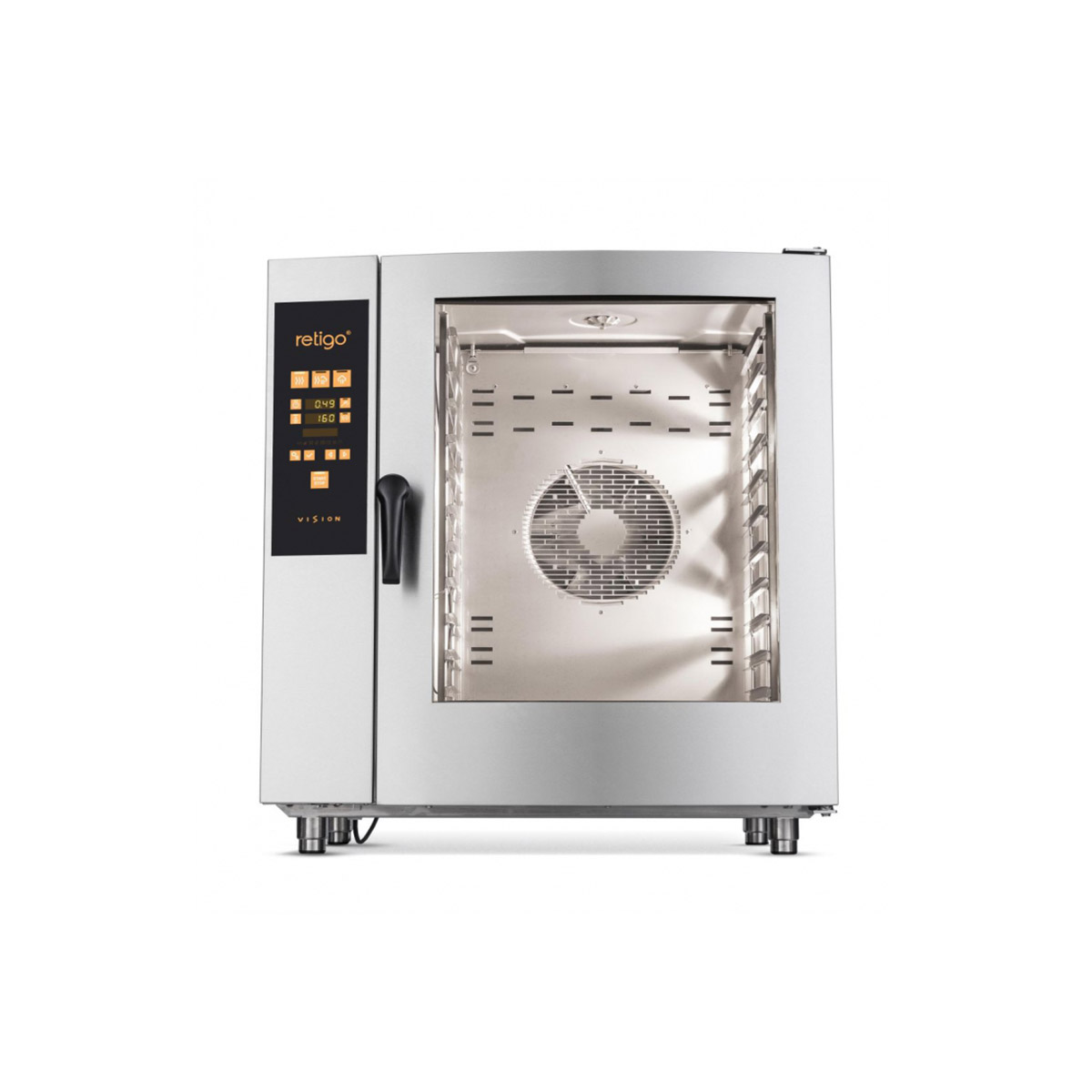Retigo Orange Vision 10x Grid Combination Oven O1011ig