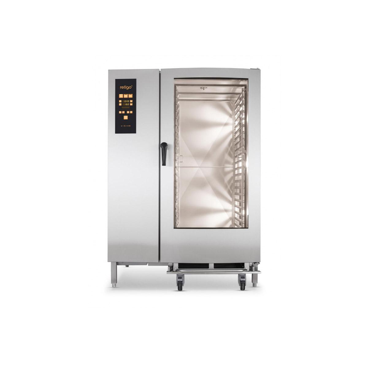 Retigo Orange Vision Combination Oven O2021i