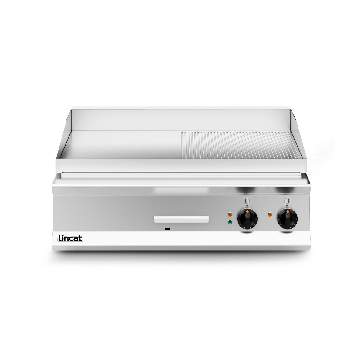 Lincat Opus 800 Half Ribbed Electric Griddle Model: OE8206/R