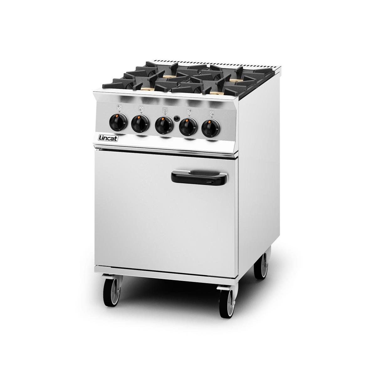 Lincat Opus 800 – 4 Burner Gas Oven Range Model: OG8001/P (Propane)