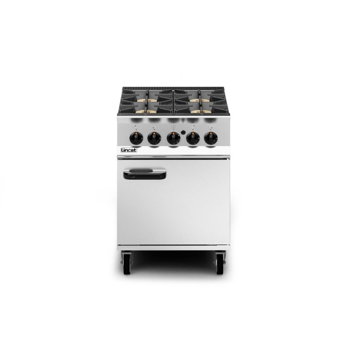 Lincat Opus 800 – 4 Burner Gas Oven Range Model: OG8001/P/RHD (Propane)