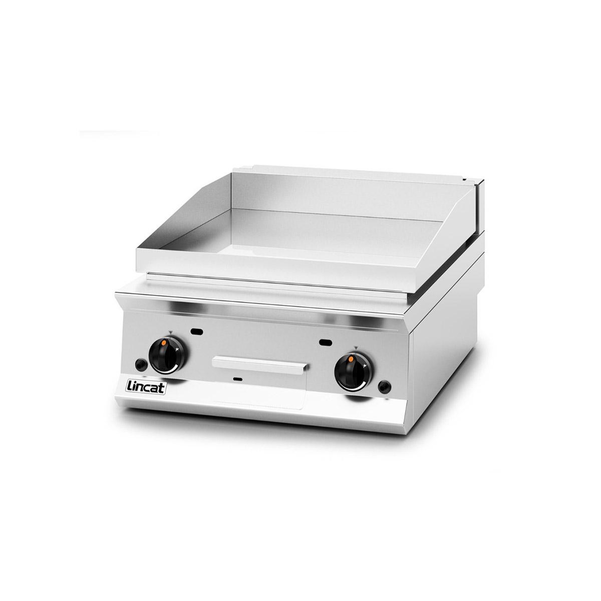 Lincat Opus 800 Chrome Plate Gas Griddle Model: OG8201/C/N (Natural Gas)