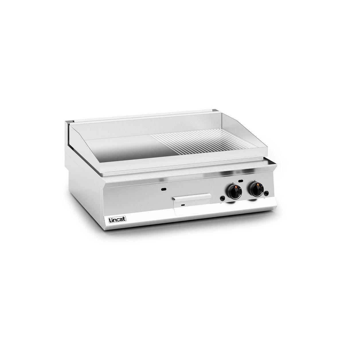 Lincat Opus 800 Chrome Plate Gas Griddle Model: OG8202/C/P (Propane)