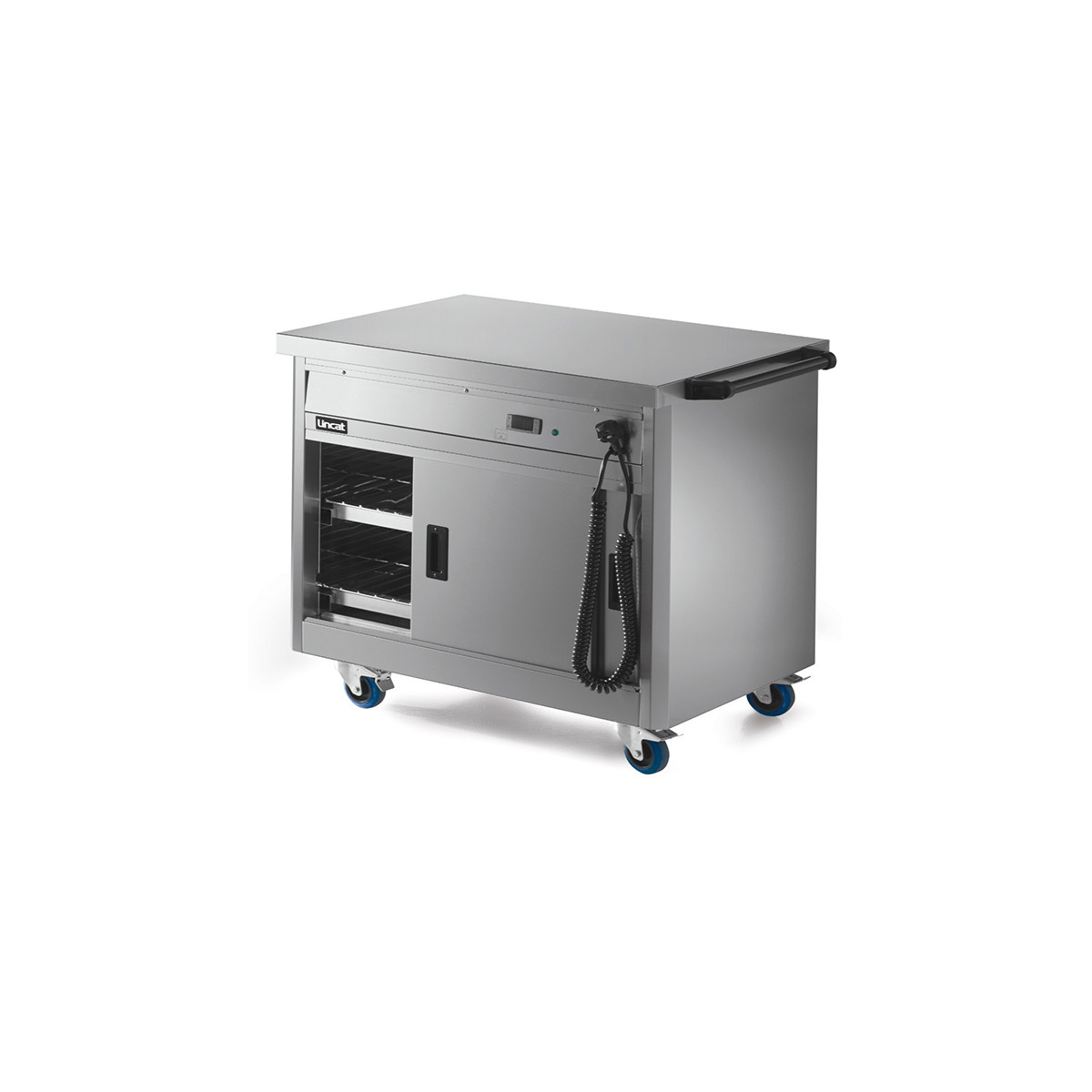 P6P2 - Lincat Panther 670 Series Free-standing Hot Cupboard - Plain Top - W 980 mm - 1.5 kW
