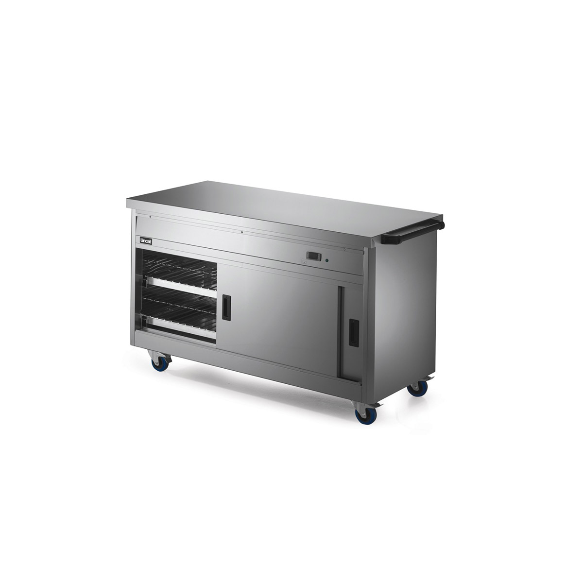 P6P4 - Lincat Panther 670 Series Free-standing Hot Cupboard - Plain Top - W 1530 mm - 2.5 kW