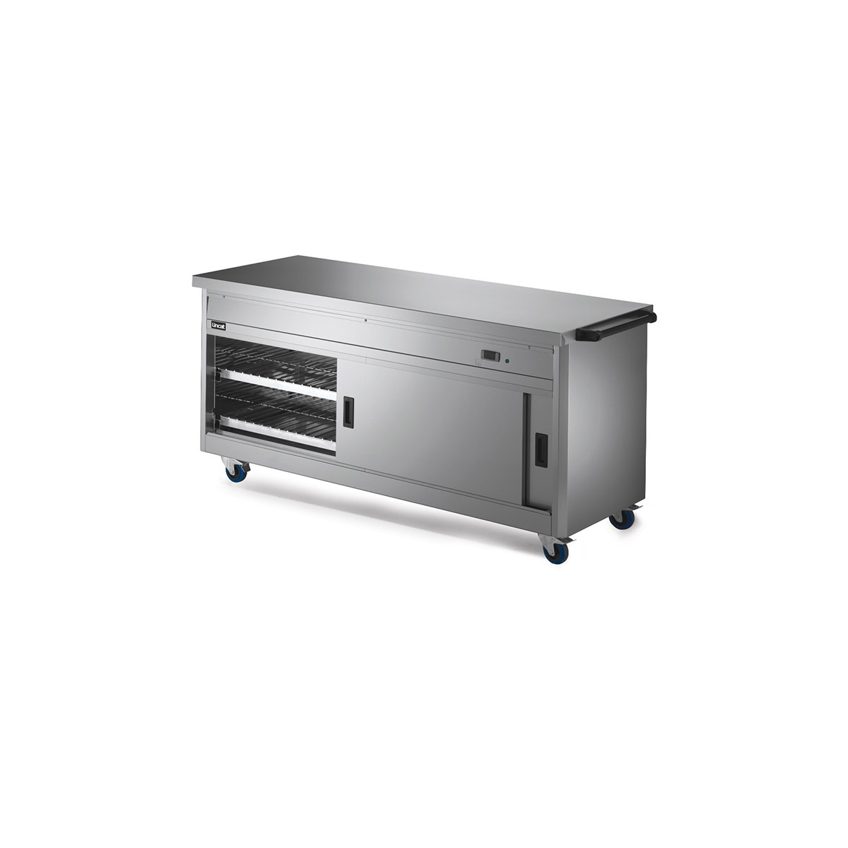 P6P5 - Lincat Panther 670 Series Free-standing Hot Cupboard - Plain Top - W 1855 mm - 2.5 kW
