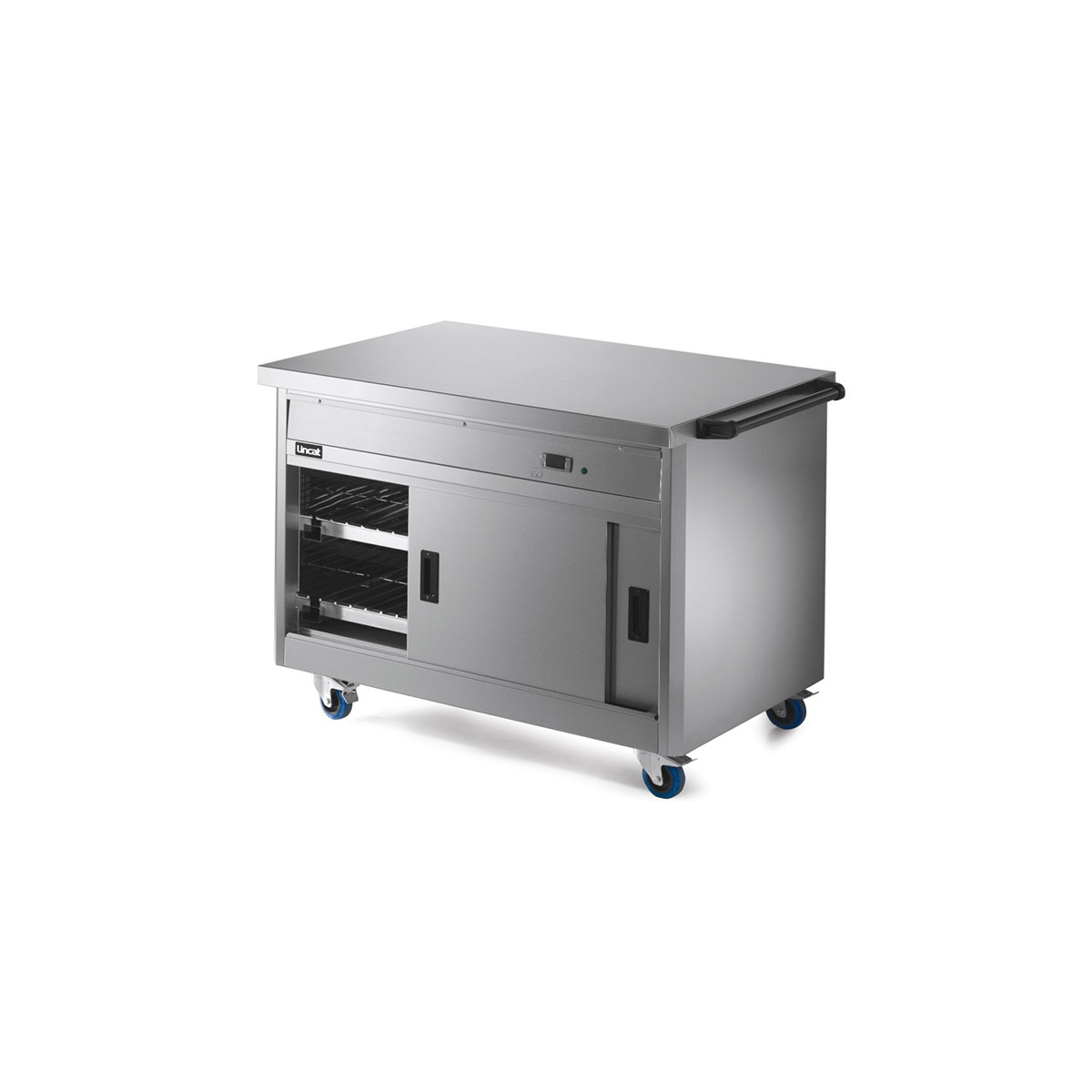 P8P3 - Lincat Panther 800 Series Free-standing Hot Cupboard - Plain Top - W 1205 mm - 1.5 kW