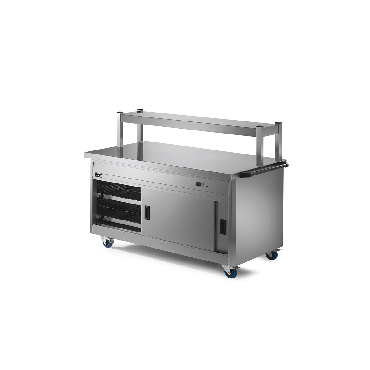 P8P4PT - Lincat Panther 800 Series Free-standing Hot Cupboard - Plain Top - W 1530 mm - 2.5 kW