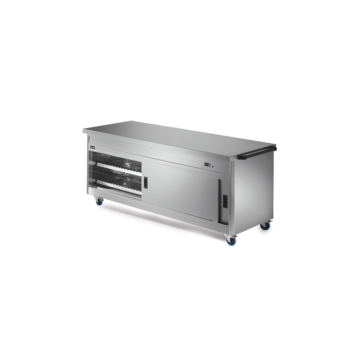 P8P6 - Lincat Panther 800 Series Free-standing Hot Cupboard - Plain Top - W 2180 mm - 2.5 kW