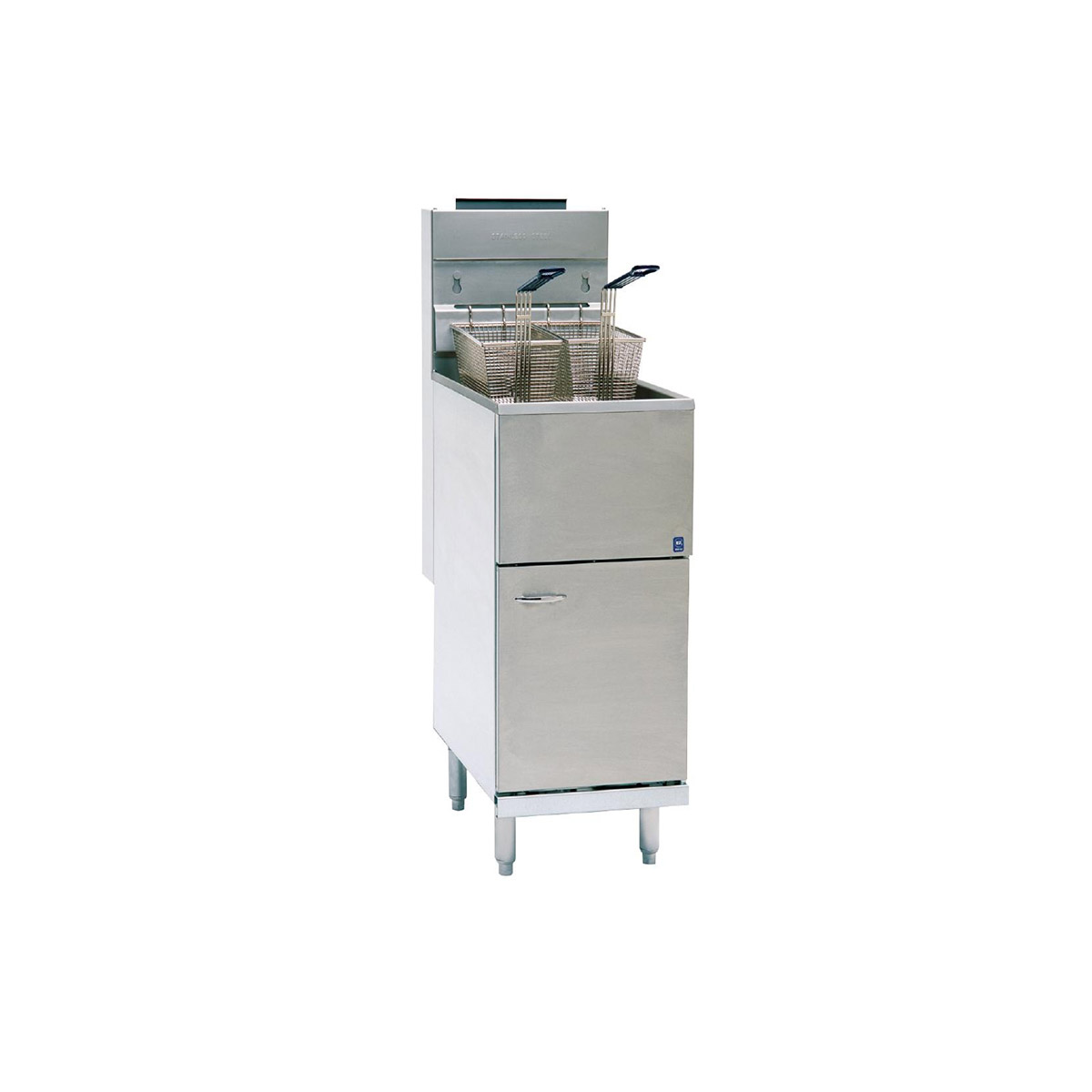Pitco Single Tank Twin Basket Free Standing Propane Gas Fryer CE-35CS