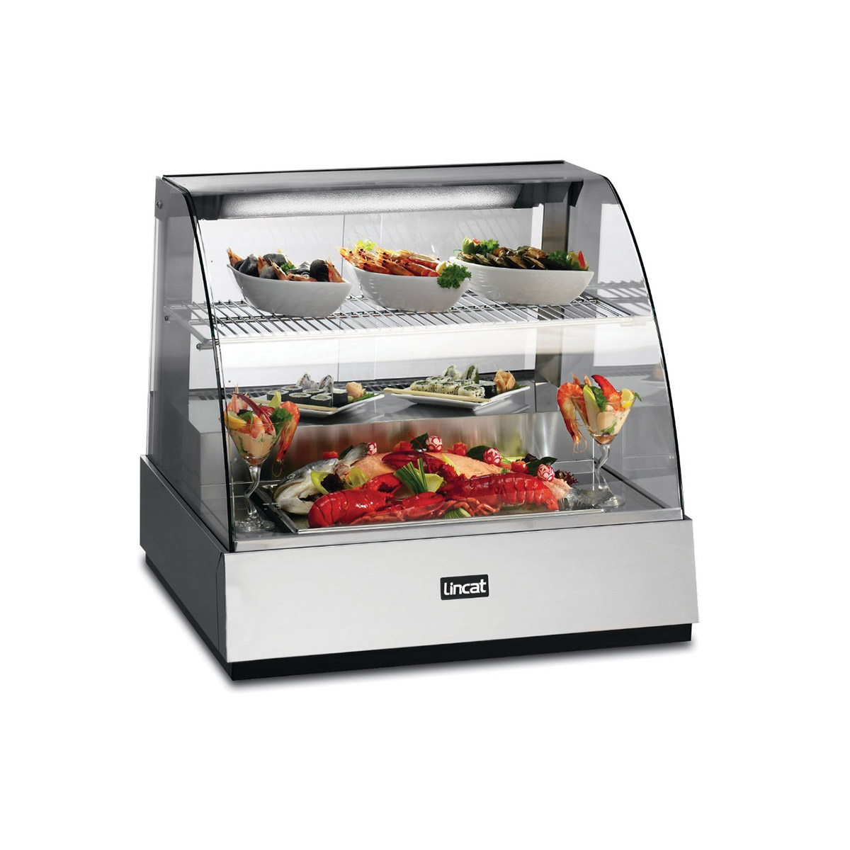 SCR785 - Lincat Seal Counter-top Refrigerated Food Display Showcase - W 785 mm - 0.602 kW