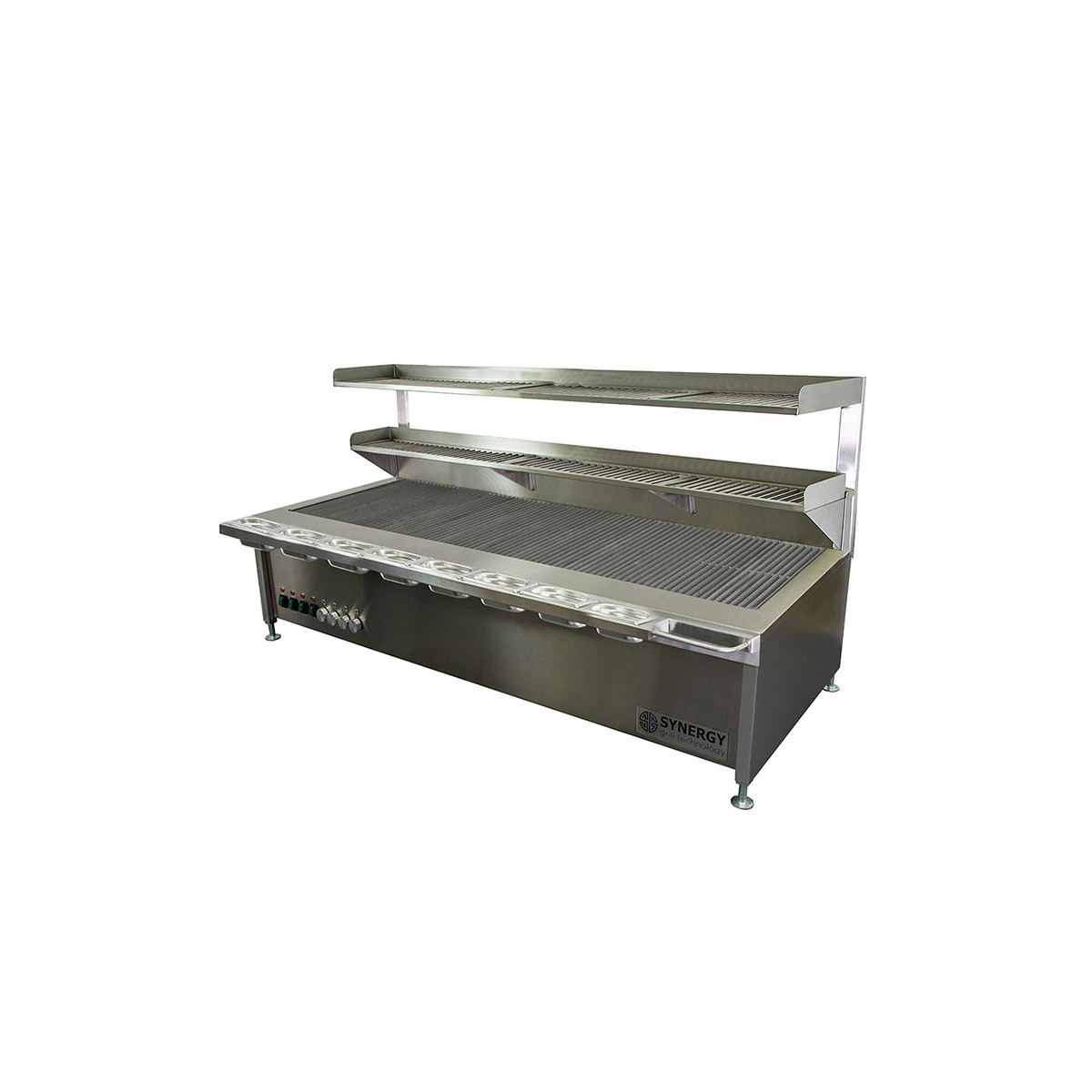 Synergy Trilogy ST1700 Grill with Garnish Rail and Slow Cook Shelf