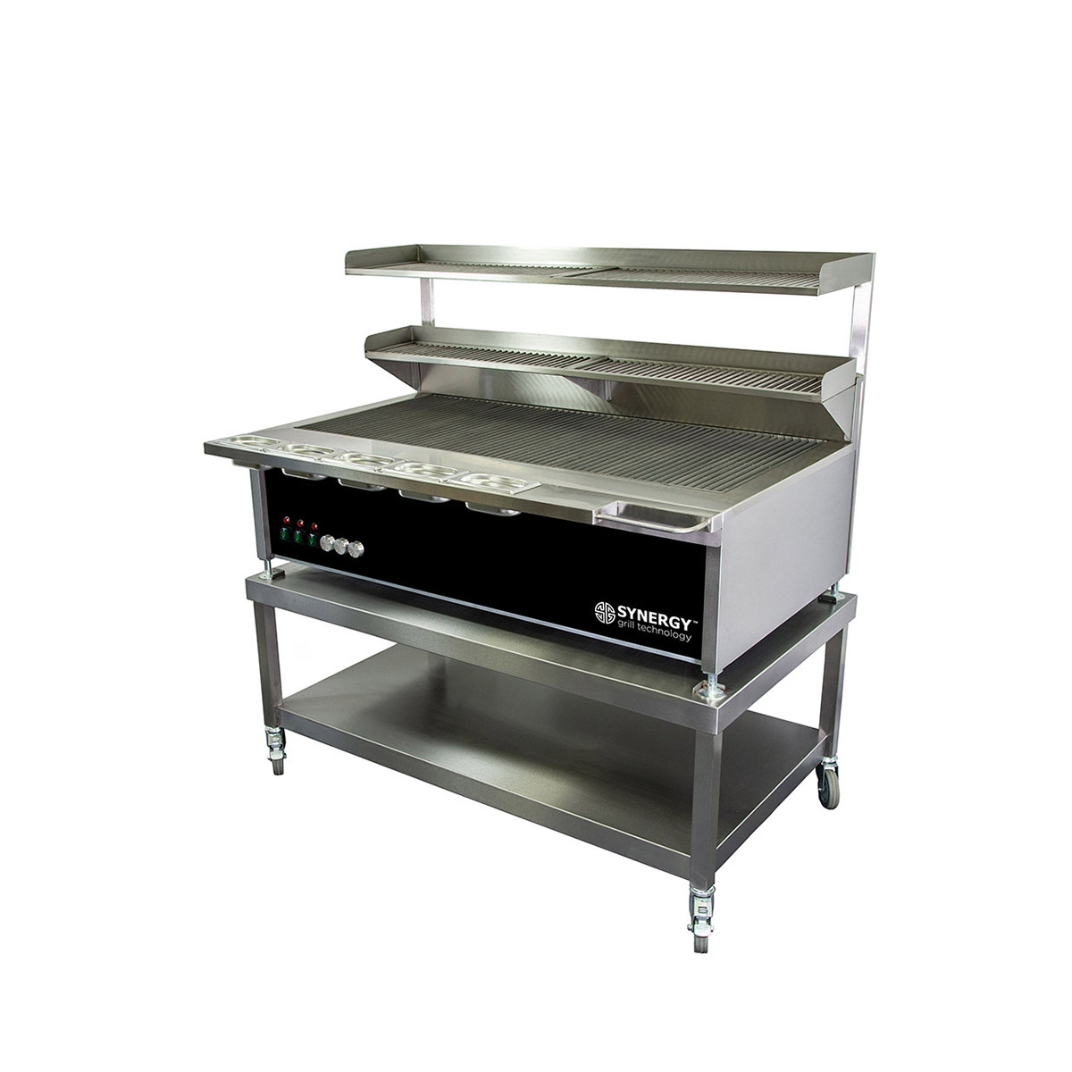 Synergy Trilogy ST1300 Grill with Garnish Rail and Slow Cook Shelf