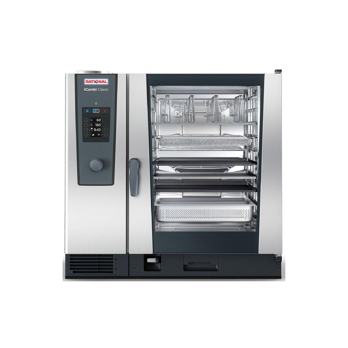 Rational iCombi Classic 10-2/1/G/P 10 Grid 2/1GN Propane Gas Combination Oven