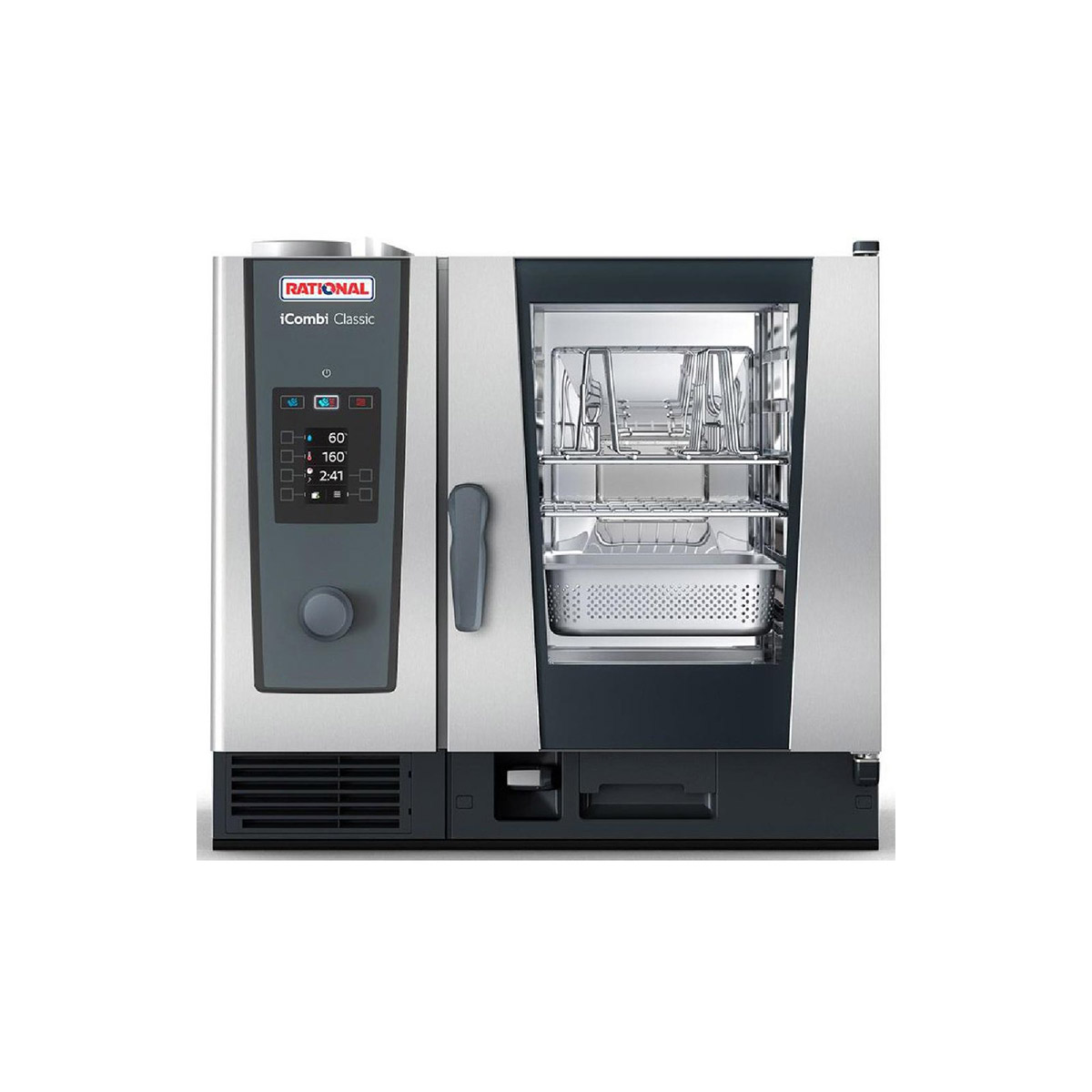 Rational iCombi Classic 6-1/1/E 6 Grid 1/1GN Electric Combination Oven