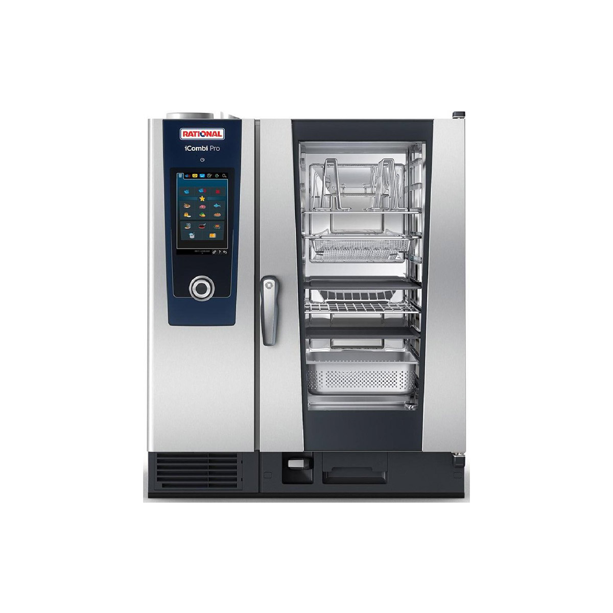 Rational iCombi Pro 10-1/1/G/N 10 Grid 1/1GN Natural Gas Combination Oven
