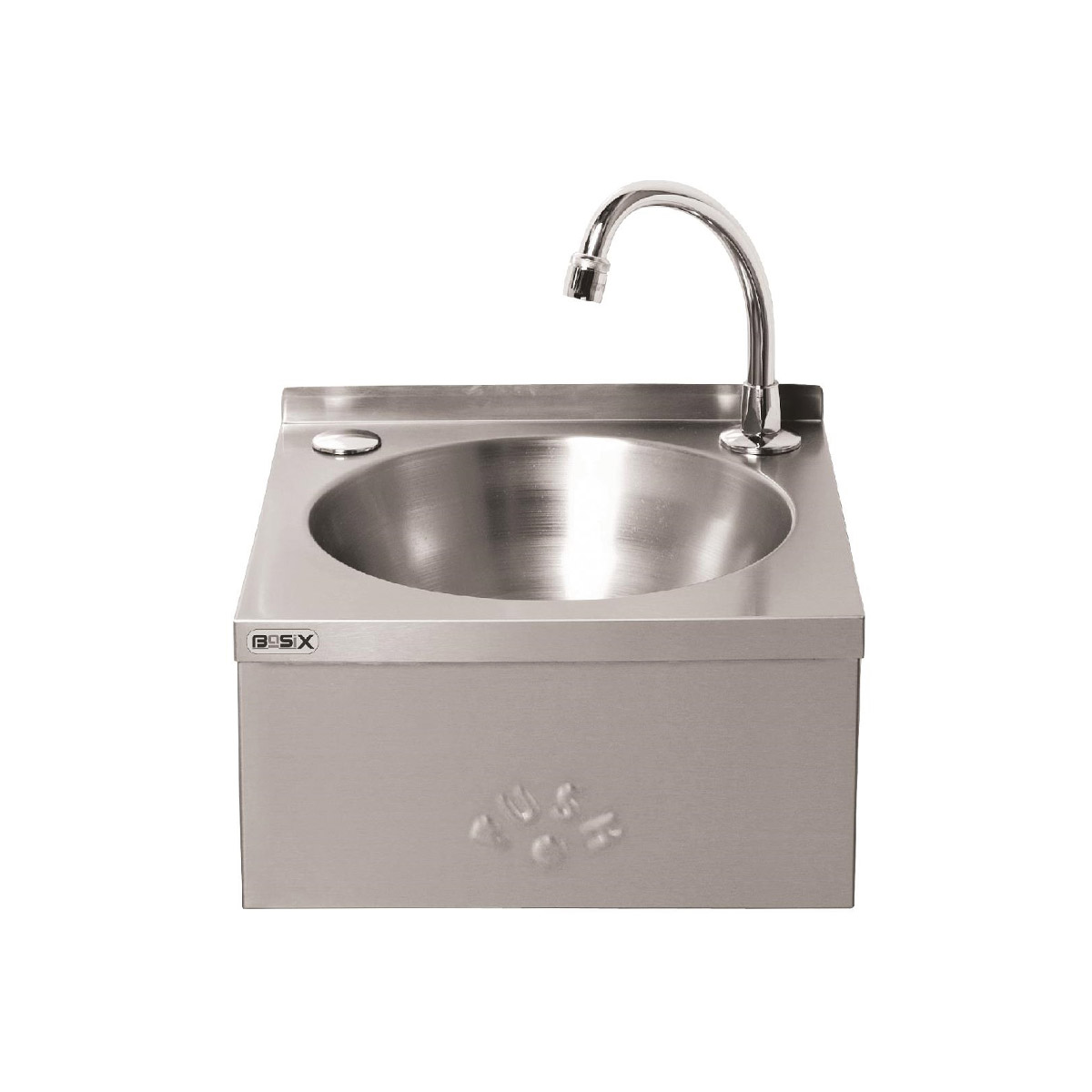 Basix Stainless Steel Knee Operated Hand Wash Basin