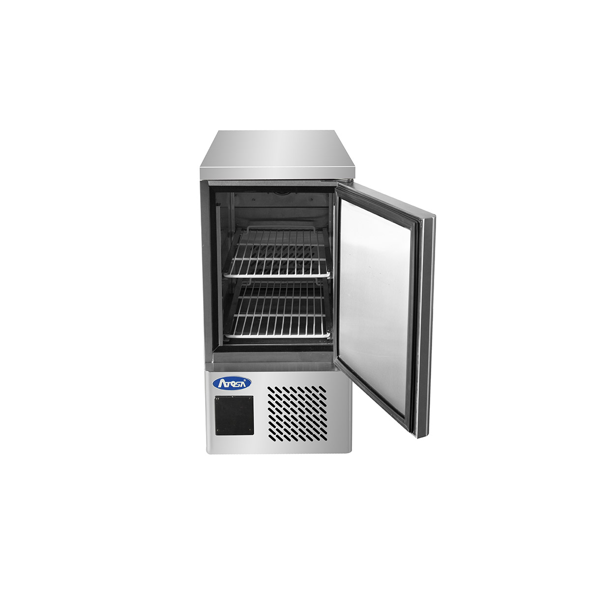 Atosa ESF4R Single Door Space Saving Counter Refrigerator
