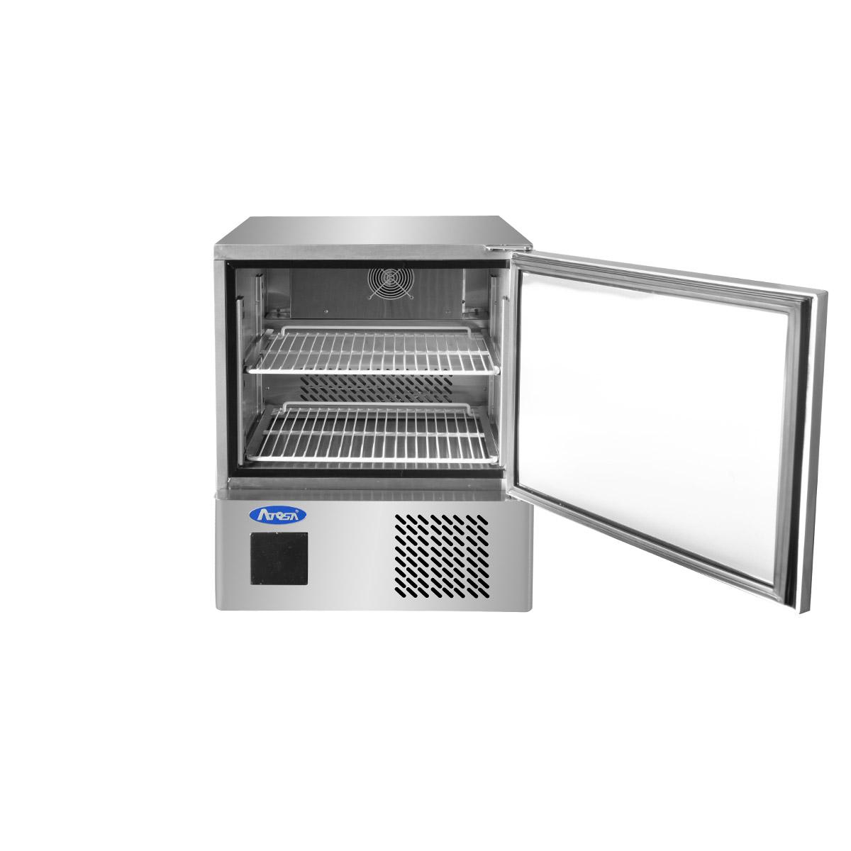 Atosa ESF5F Single Wide Door Space Saving Counter Freezer