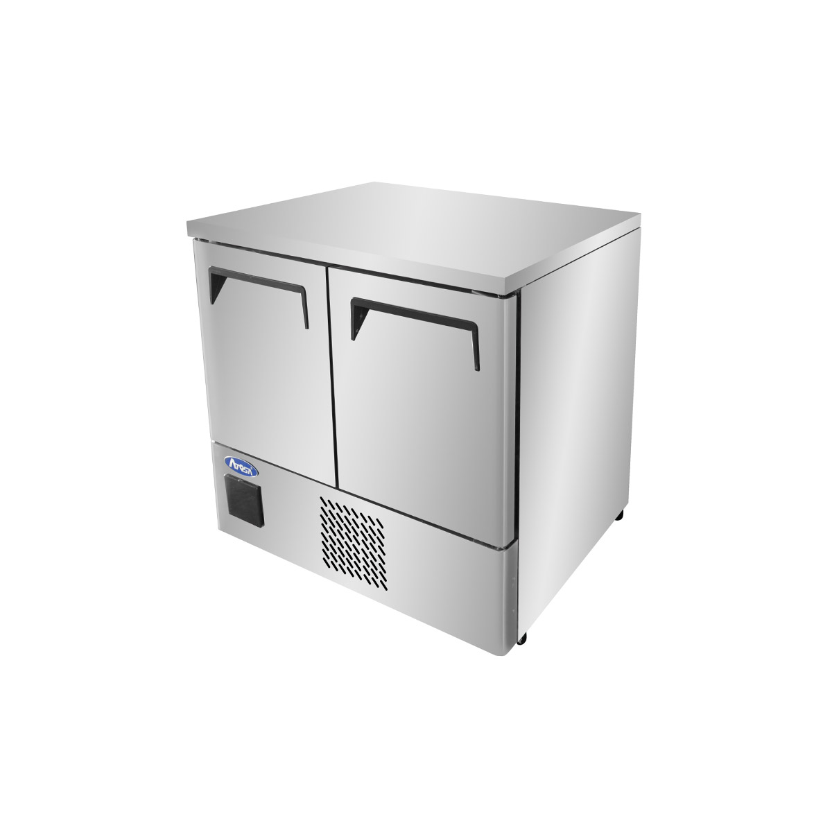 Atosa ESF8R Double Door Space Saving Counter Refrigerator