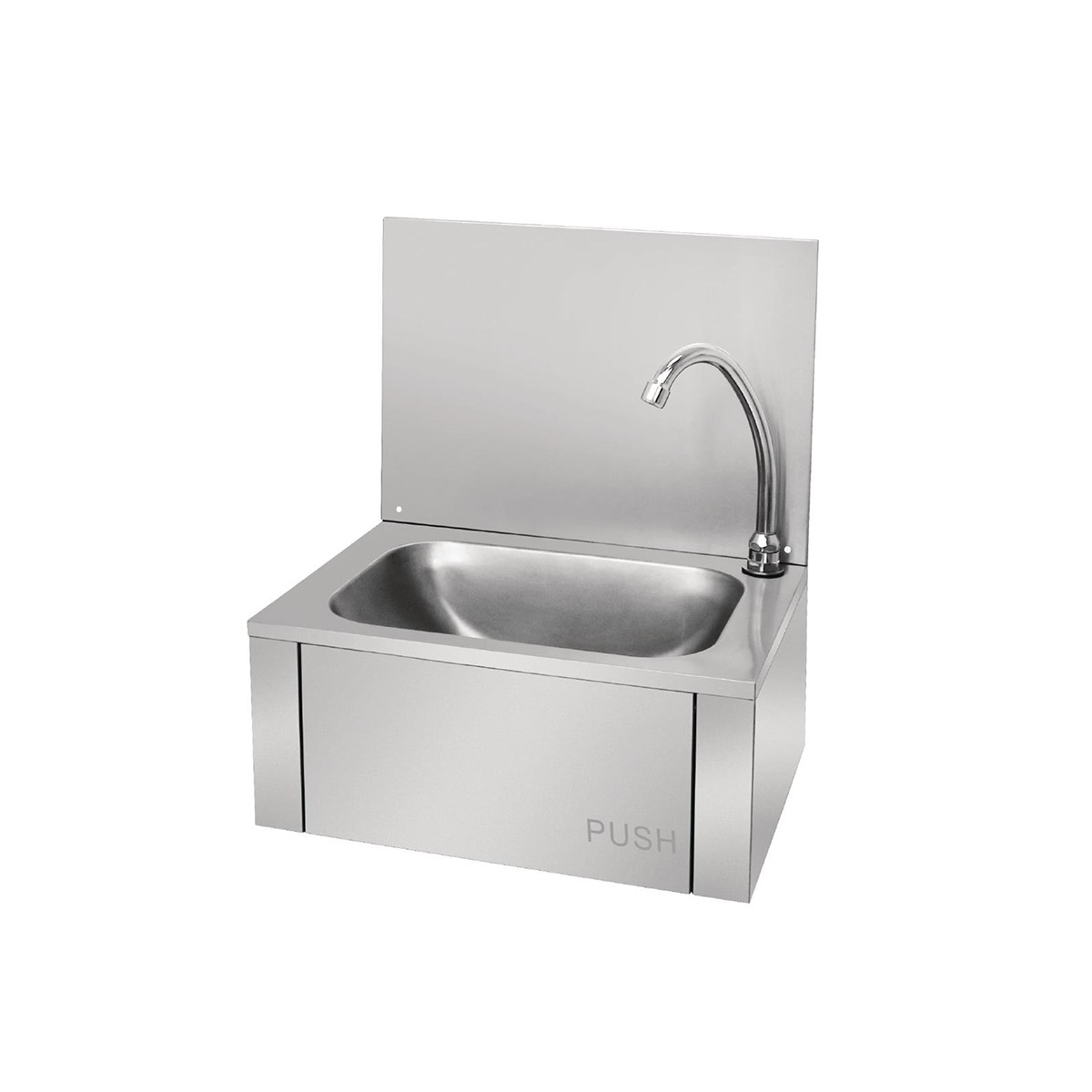Vogue Stainless Steel Knee Operated Sink