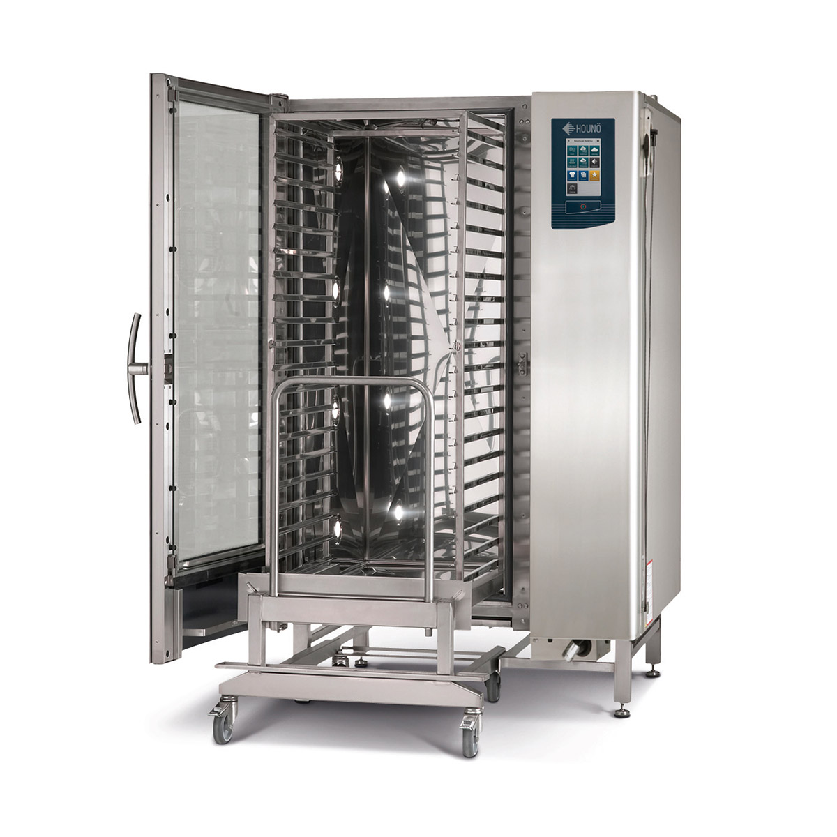 Hounö K & KPE 2.20 Roll-In Combi Oven Electric 20 Tray Oven – 4 Year Warranty