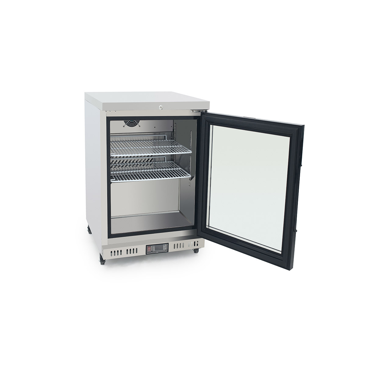 Atosa MBC24G Single Glass Door Refrigerator 145 Litres