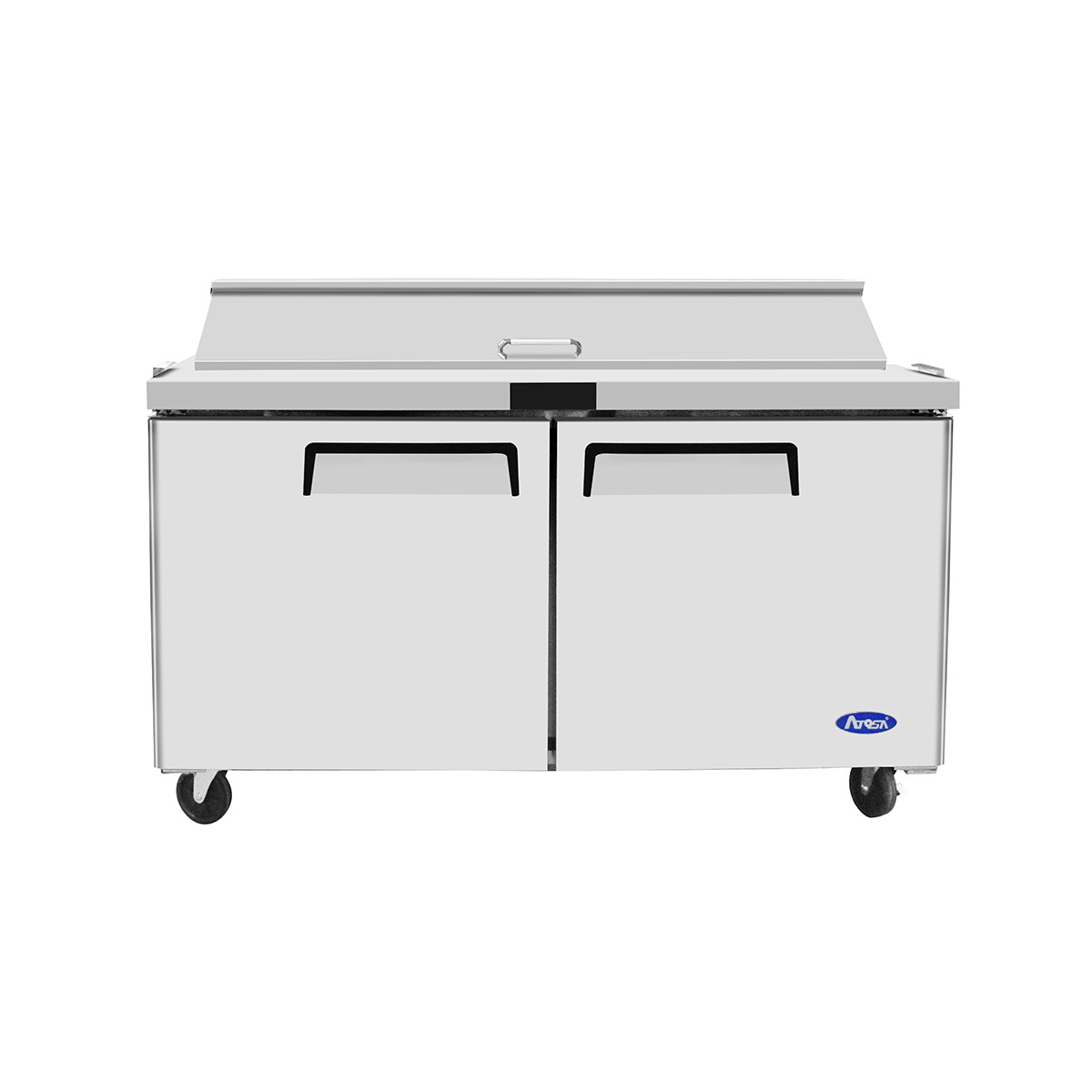 Atosa MSF8303GR Heavy Duty 2 Door Prep Counter 515 Litres with 16 x 1/6 GN Pans