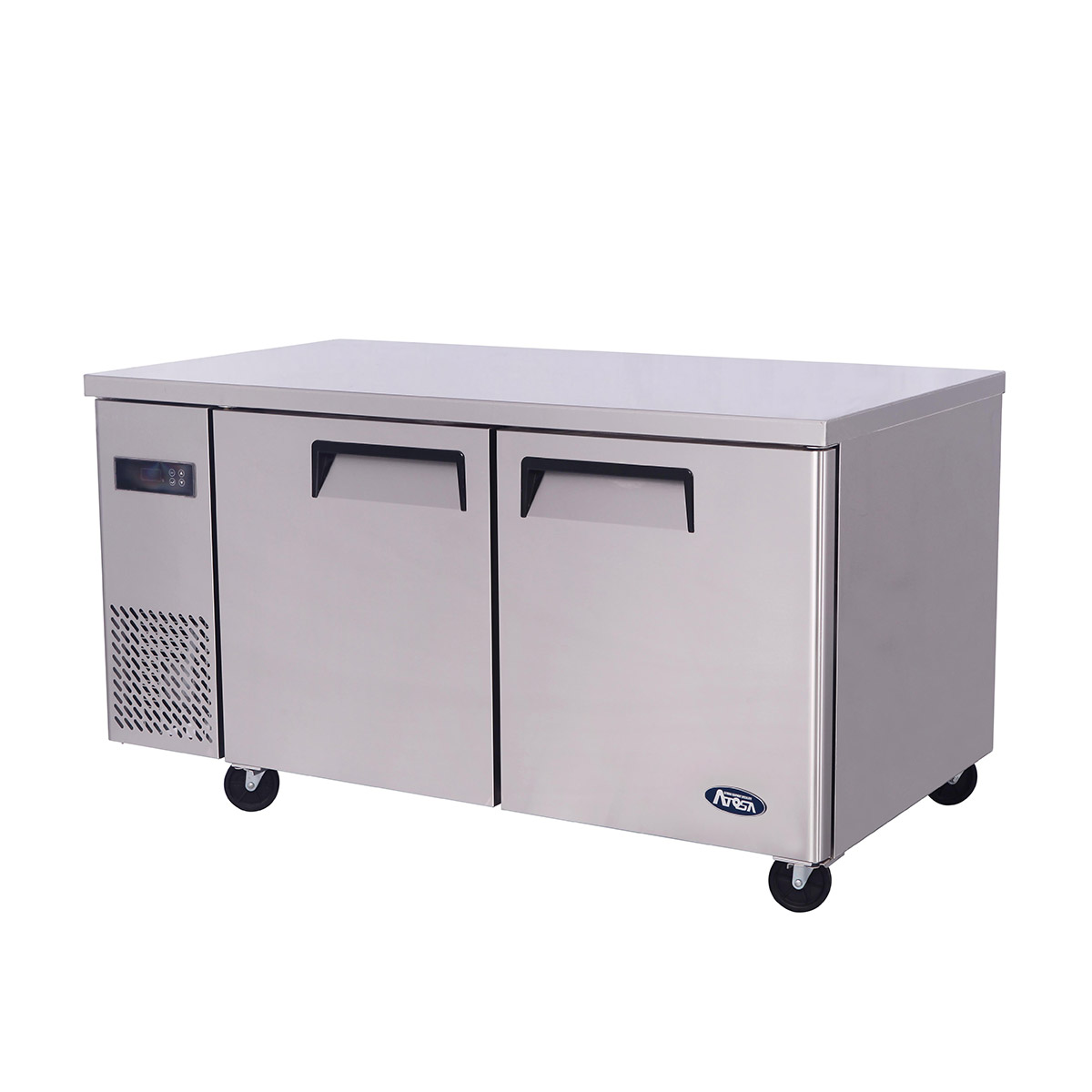 Atosa YPF9037GR Wide Two Door Undercounter Freezer 370ltrs