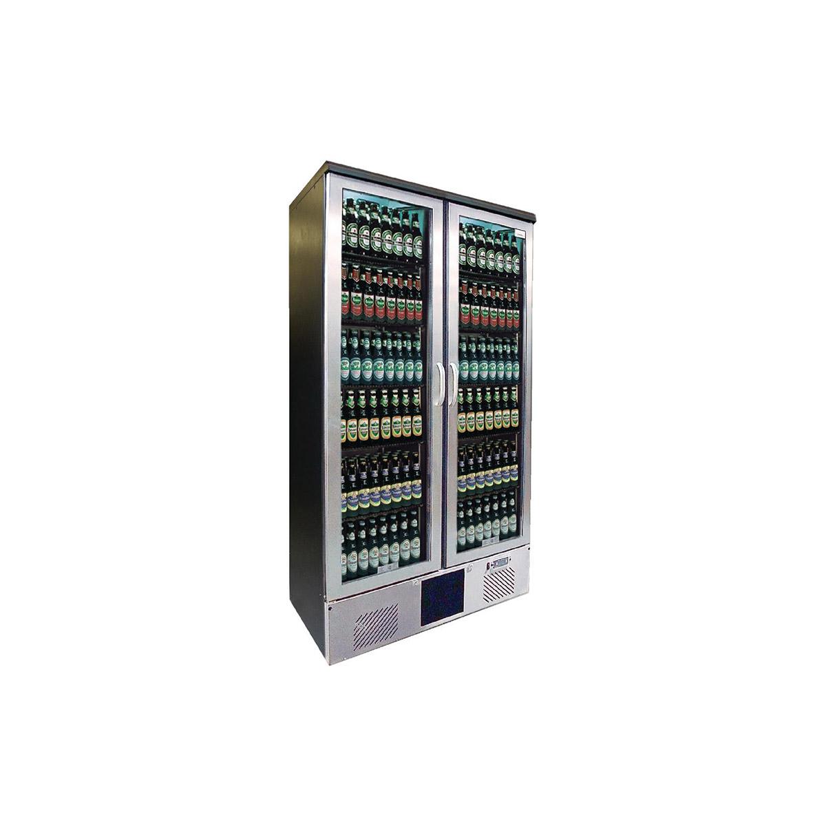 Gamko Maxiglass 2 Glass Door 500Ltr Bottle Cooler Cabinet MG2/500GCS