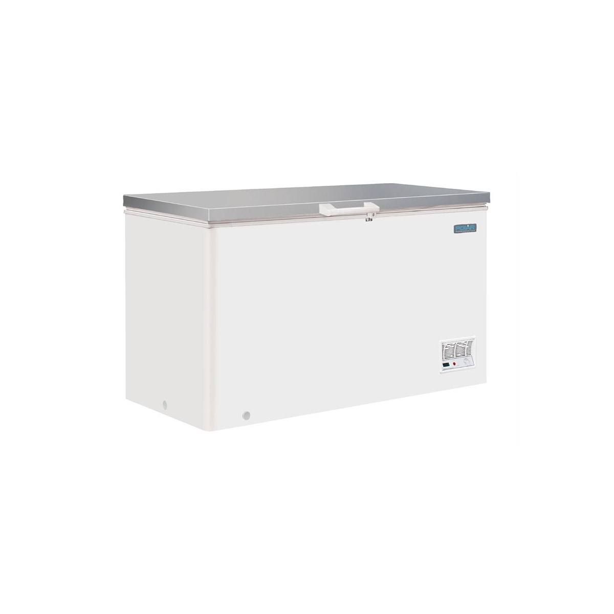 Polar G-Series Chest Freezer with Stainless Steel Lid 385Ltr