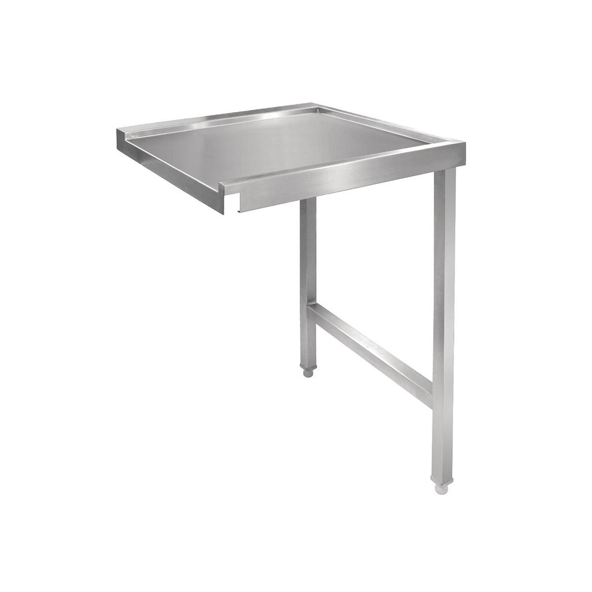 Vogue Pass Through Dishwash Table Right 650(D)mm